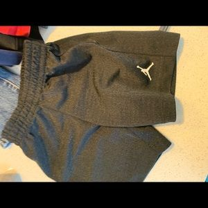 Nike Jordan Black Gym Shorts